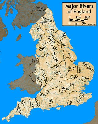 Major Rivers of England