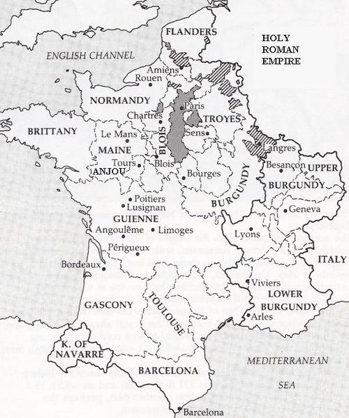 Medieval France 1150