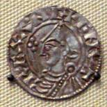 Coin from the reign of Cnut