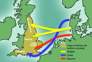 Angles, Jutes and saxon invaders