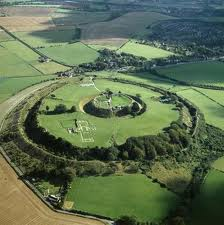 The Iron Age fort at Old Sarum