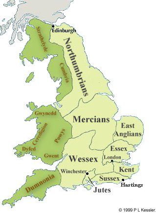 The Heptarchy 7th Century