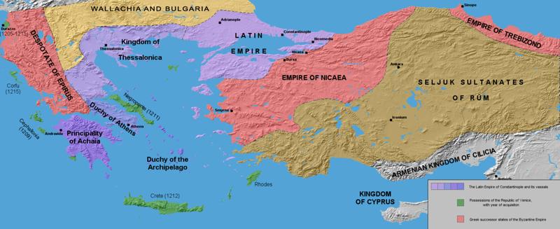 The Byzantine Empire 1204
