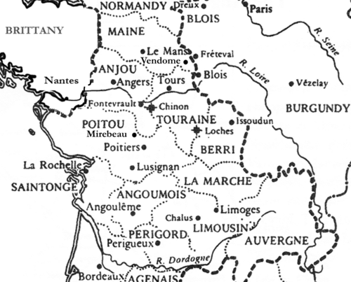Anjou and Aquitaine 1190 - 1205