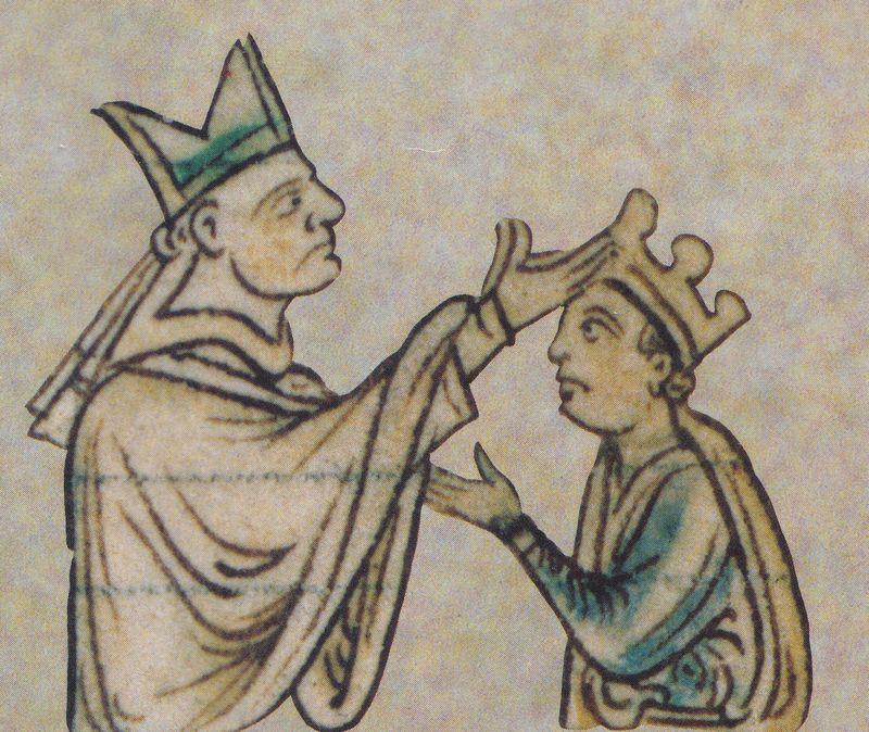 Henry III Coronation Langton