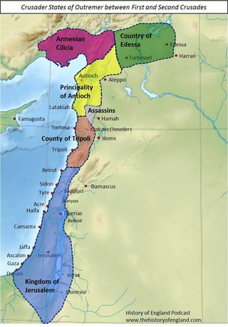 Crusader Outremer  1100-1140