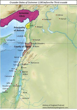 Crusader Outremer 1190
