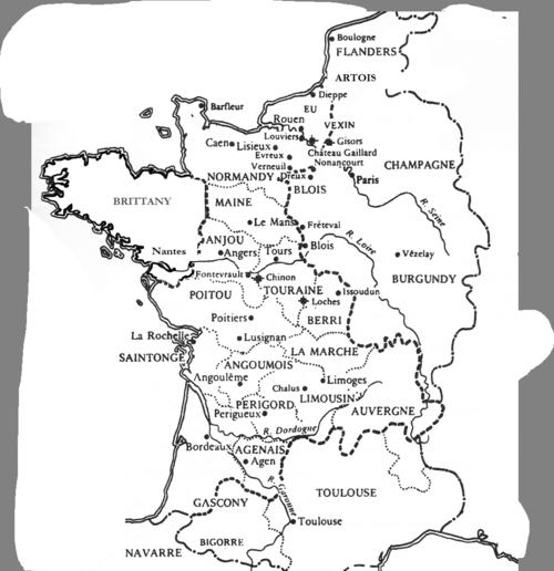 Angevin Empire 1190