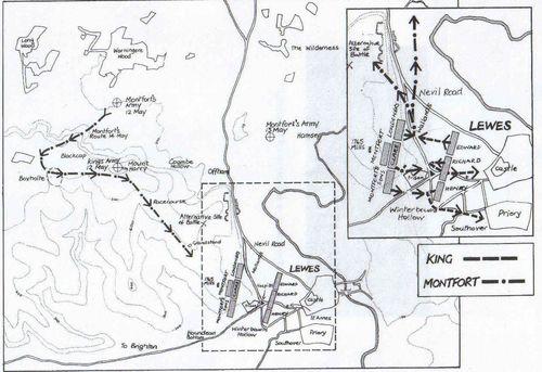 Battle of Lewe 1264