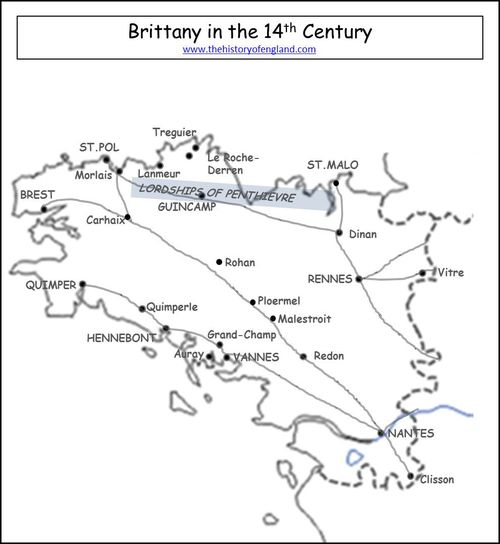 Brtittany in the 14th Century