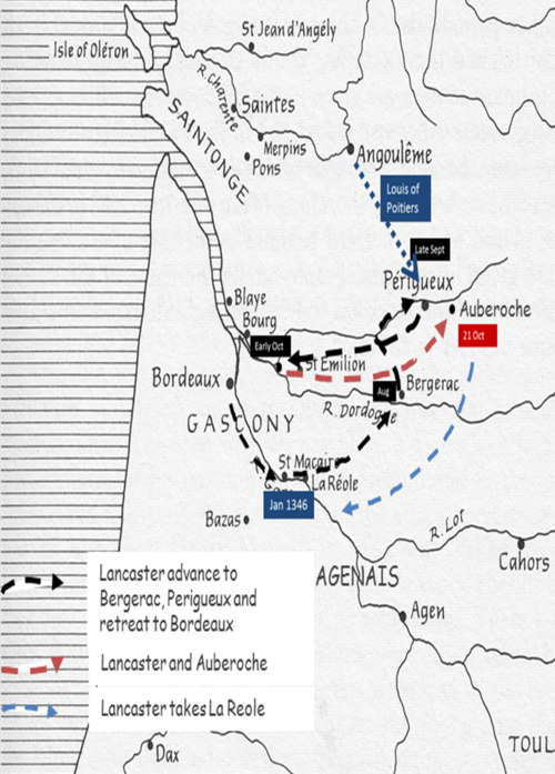 Lancaster and the campaign of 1345
