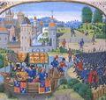Richard II meets rebels at Blackheath
