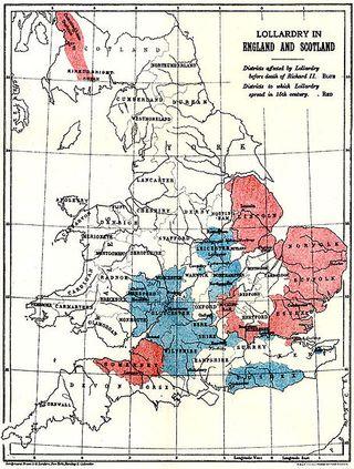 Map of Lollardy