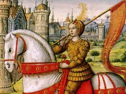 Joan of Arc and Oriflamme