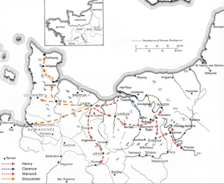 1418-1419 Normandy Campaigns